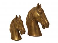 Deko Objekt Golden Horse