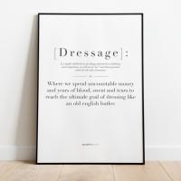 Print Quote Dressage