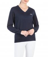 Equiline Damen V-neck Pullover Cekilc HW21