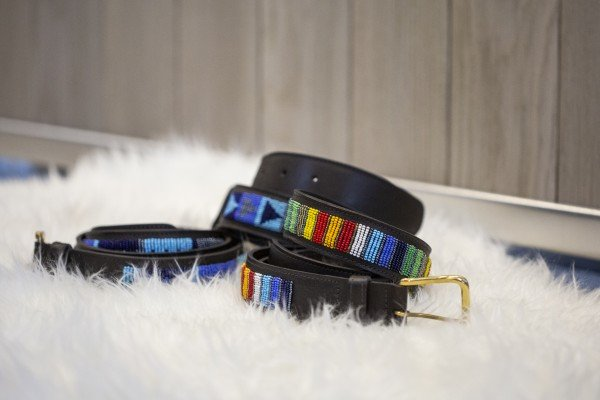 Beaded Belt Rainbow