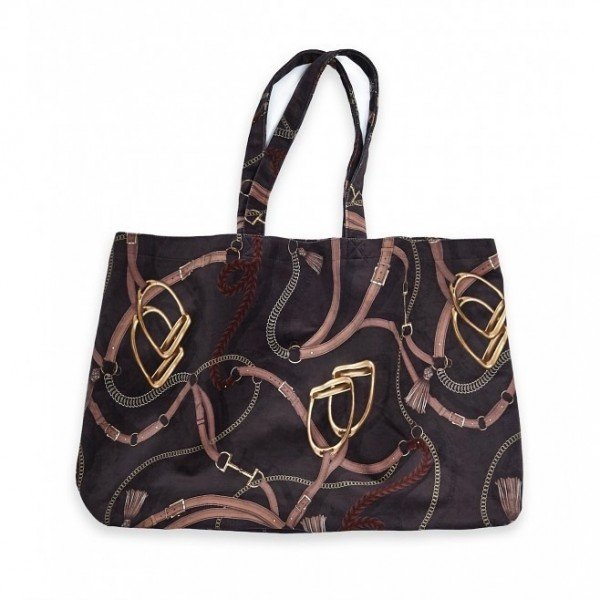 Adamsbro Velvet Tote Bag