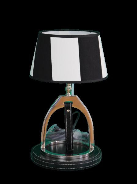 Wohnlampe Stirrup Leather round Stripes