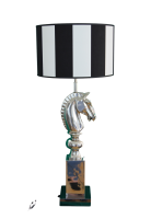 Stehlampe Chess Horse Stripes