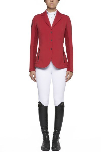 CT Damen Tech Knit Zip Riding Jacket