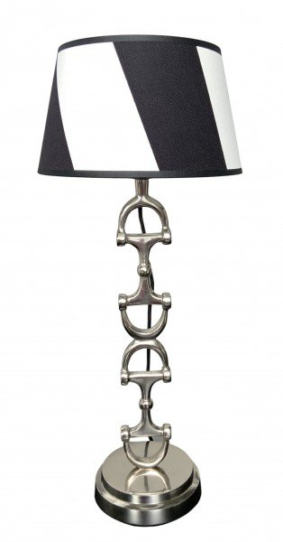 Wohnlampe Snaffle Bit Silver Stripes