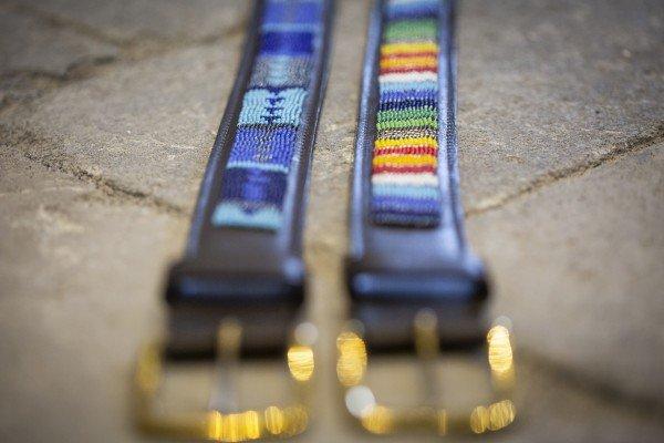 Beaded Belt Blue Passion