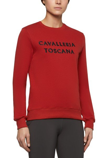 CT Pullover Embossed Embroidery Crew Neck