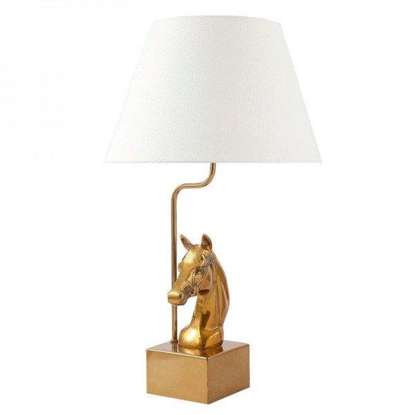 Wohnlampe Golden Horse