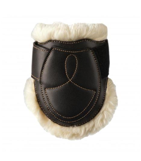 Kentucky Horsewear Sheepskin Leder Streichkappen Elastic