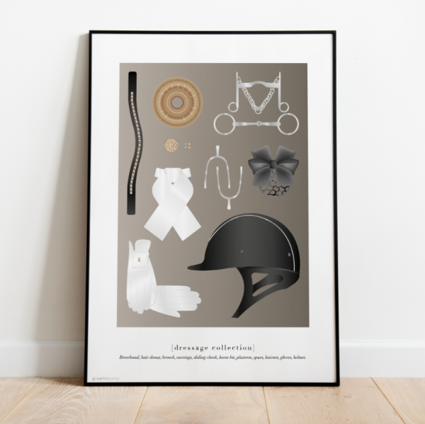 "Print ""Dressage Collection"""