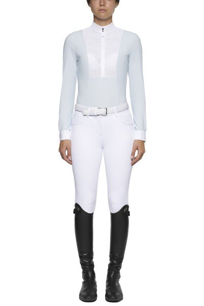 CT Showshirt Perforated Bib and Collar L/S