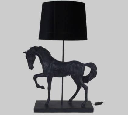 Wohnlampe Black Horse - PREORDER