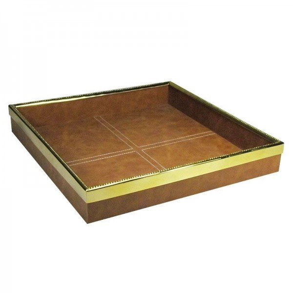Tablett Golden Leather